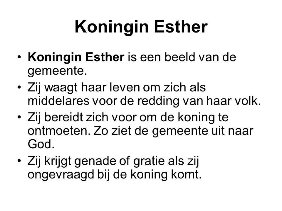 Koningin Esther Koningin Esther is een beeld van de gemeente.