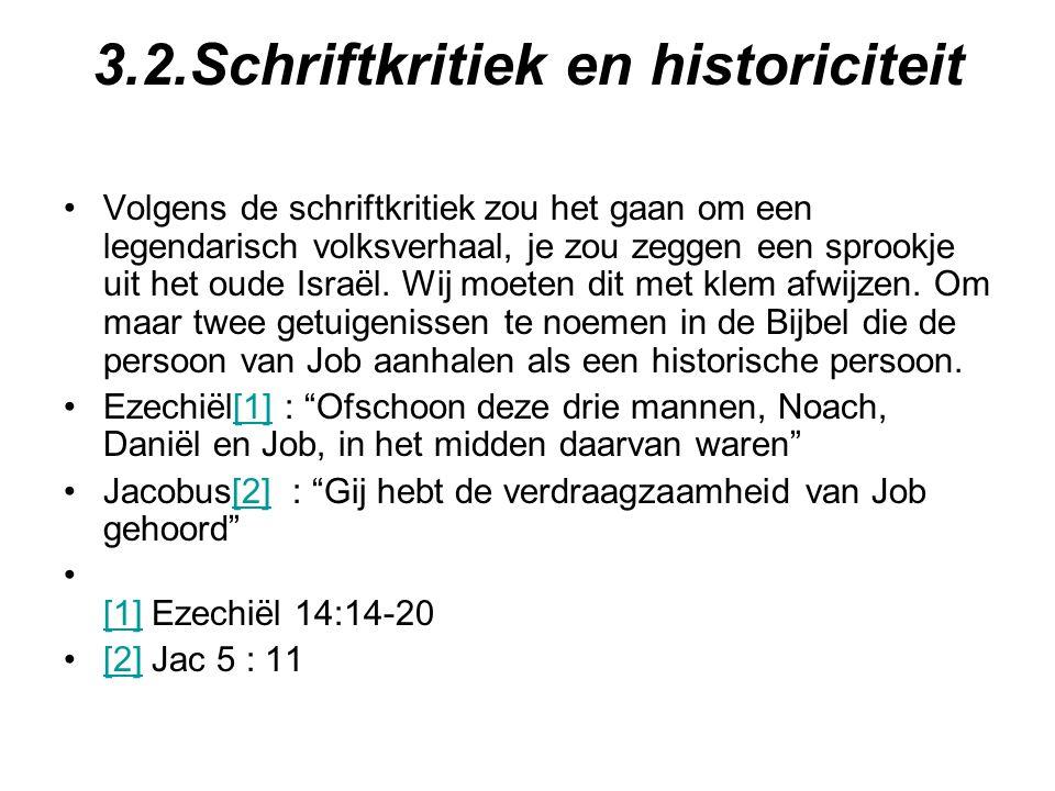 3.2.Schriftkritiek en historiciteit