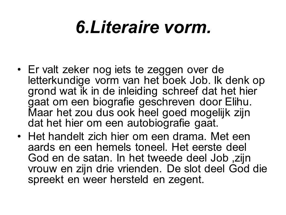 6.Literaire vorm.