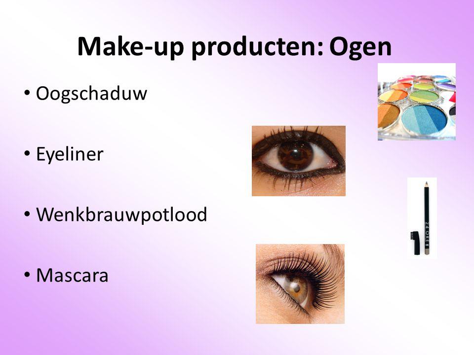 Make-up producten: Ogen