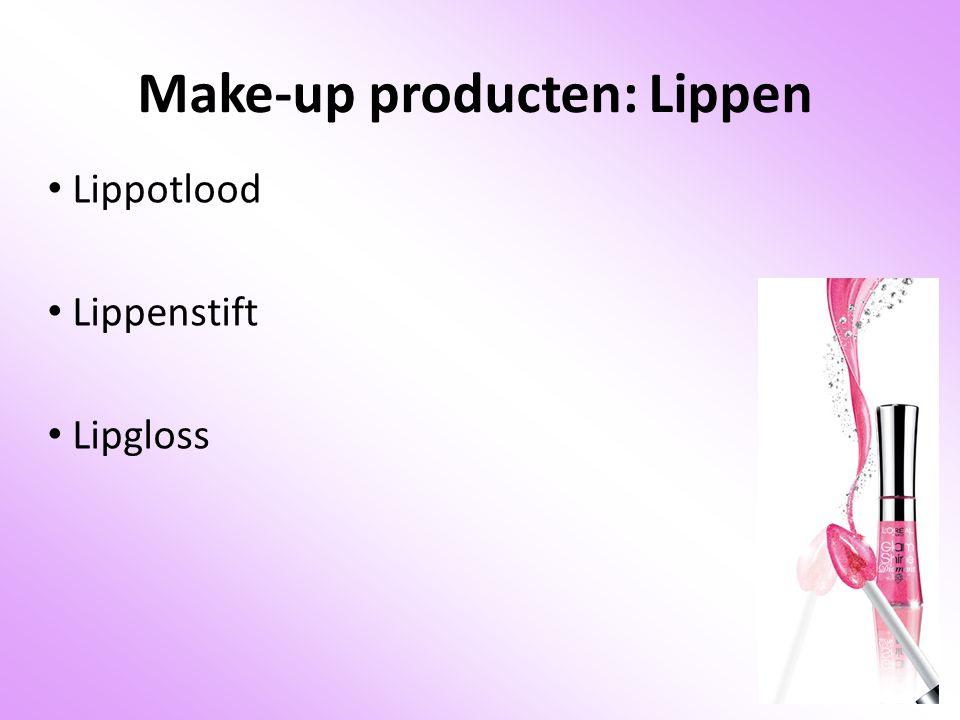 Make-up producten: Lippen