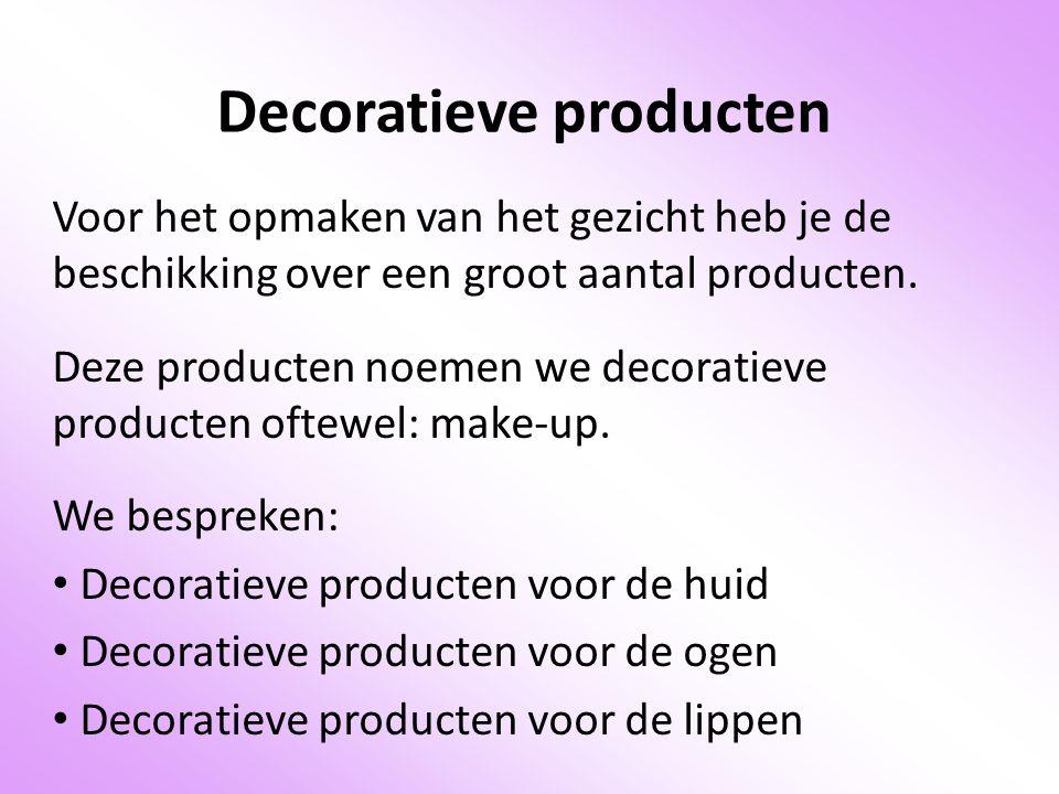 Decoratieve producten