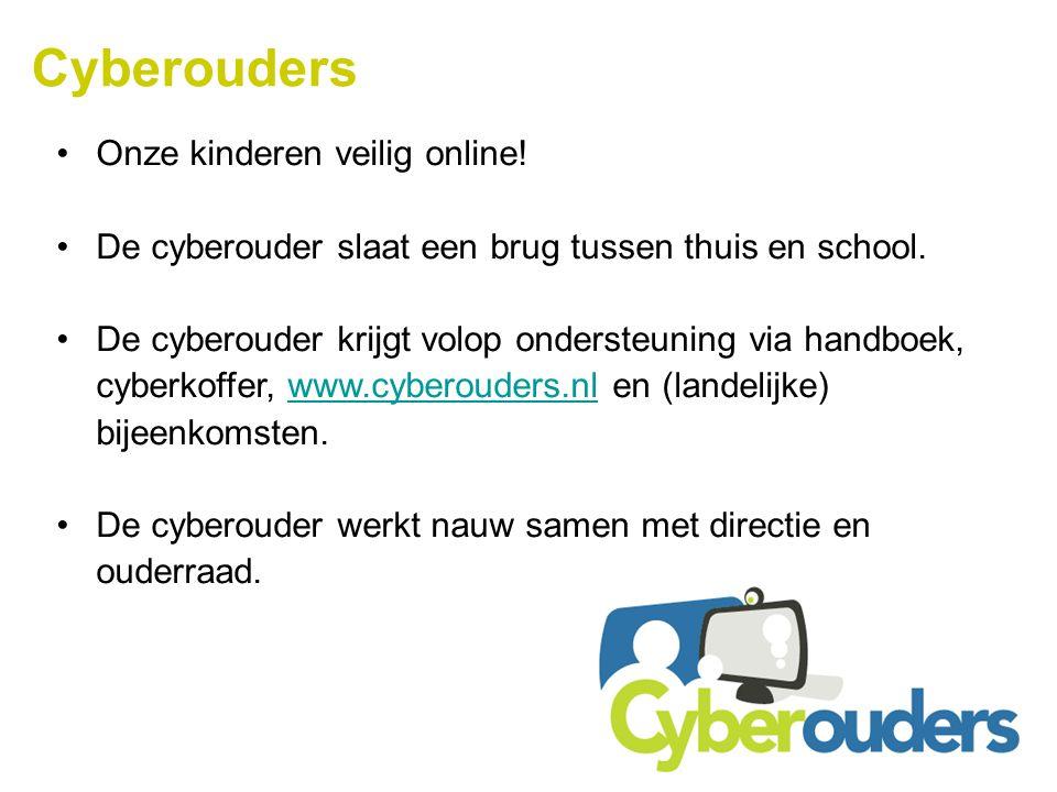 Cyberouders Onze kinderen veilig online!