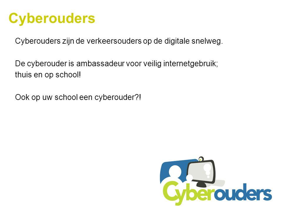 Cyberouders Cyberouders zijn de verkeersouders op de digitale snelweg.