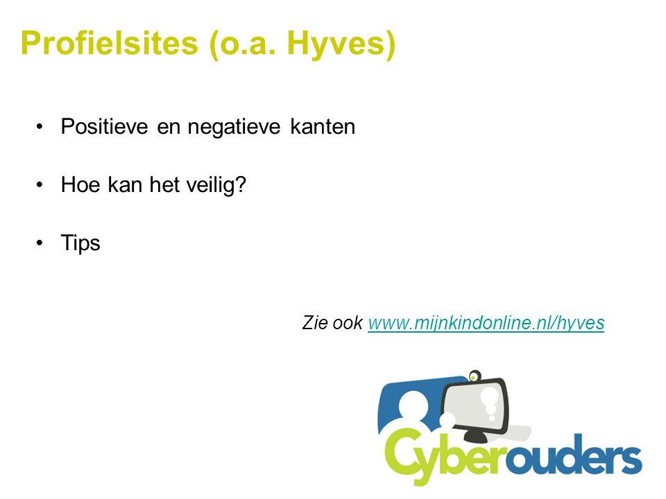 Profielsites (o.a. Hyves)