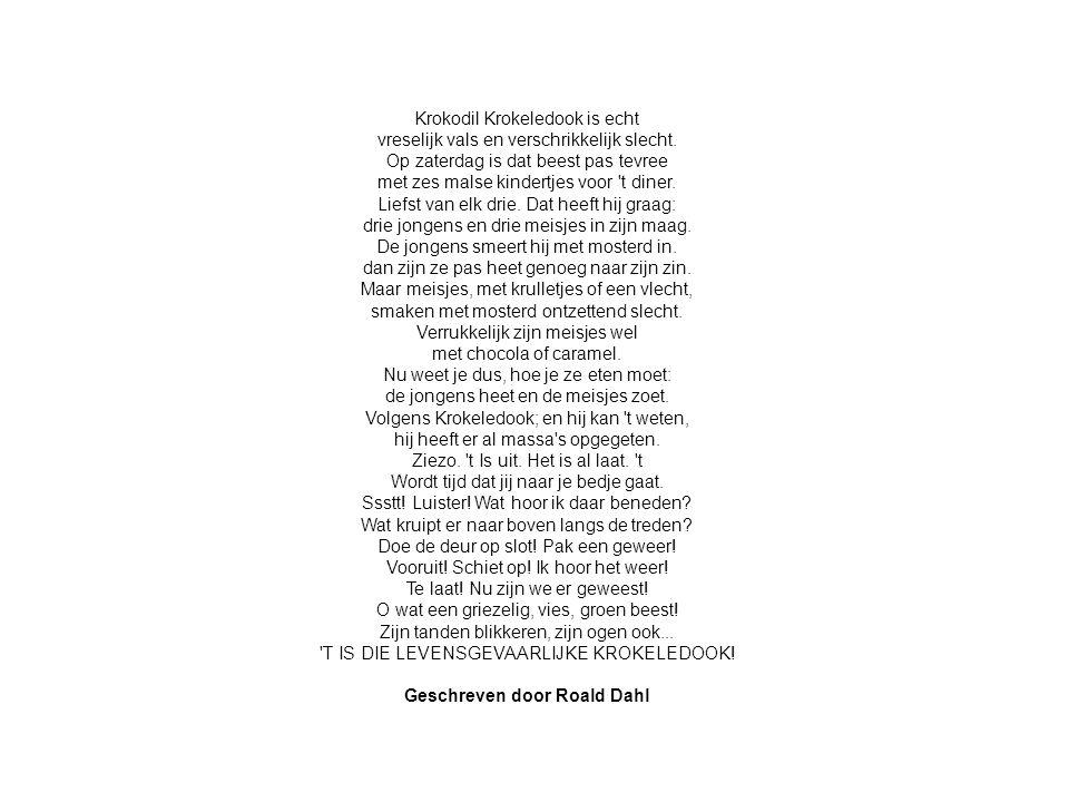 Geschreven door Roald Dahl