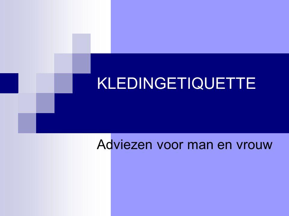 Adviezen voor man en vrouw