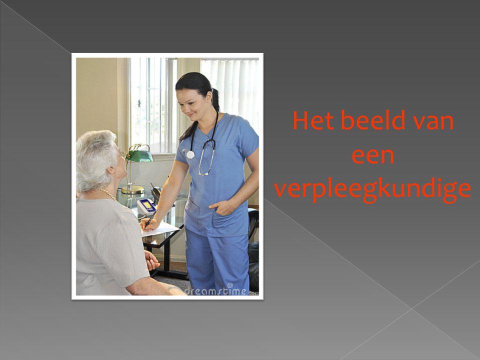 Het beeld van een verpleegkundige