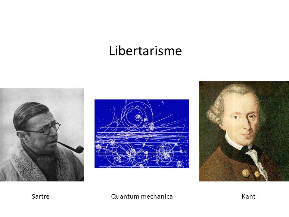 Libertarisme Sartre Quantum mechanica Kant