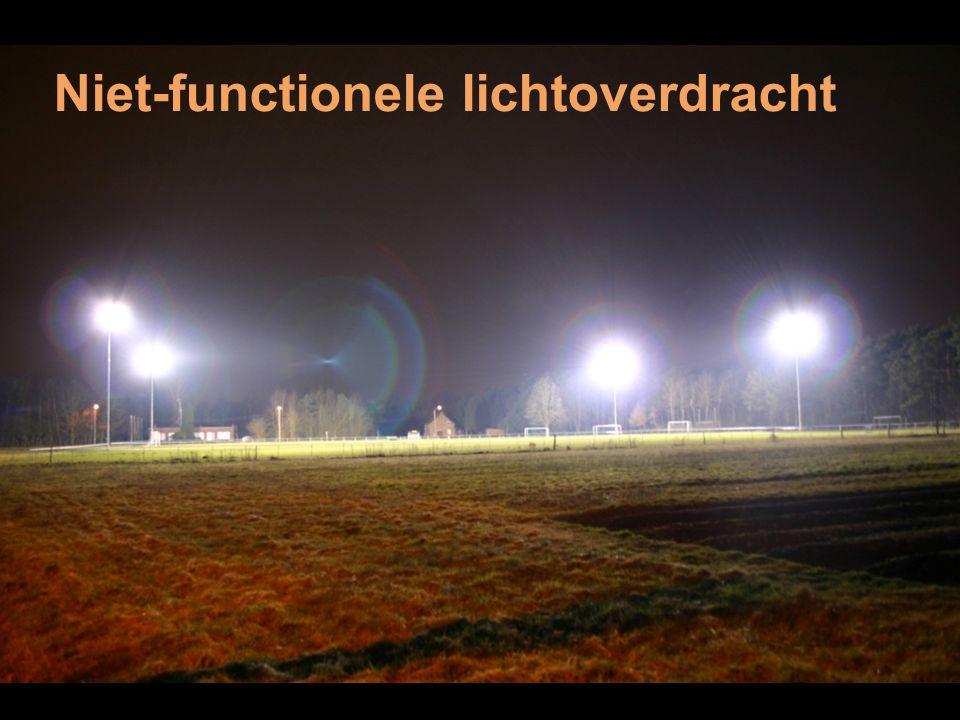 Niet-functionele lichtoverdracht
