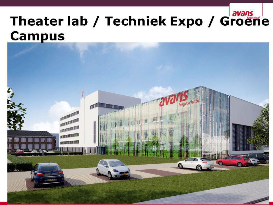 Theater lab / Techniek Expo / Groene Campus