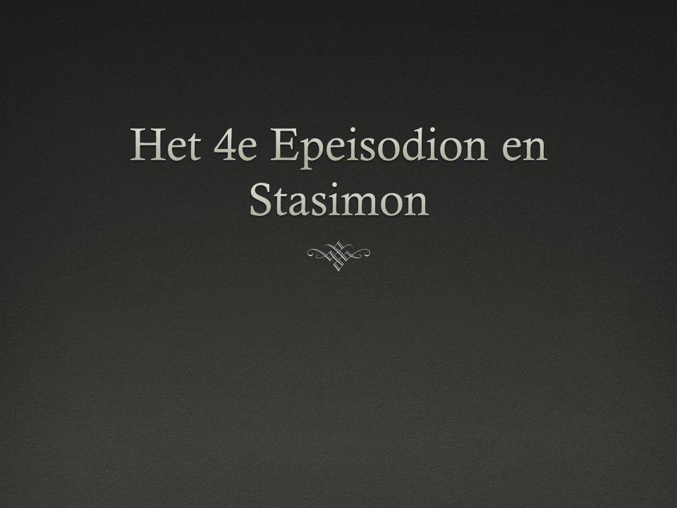 Het 4e Epeisodion en Stasimon
