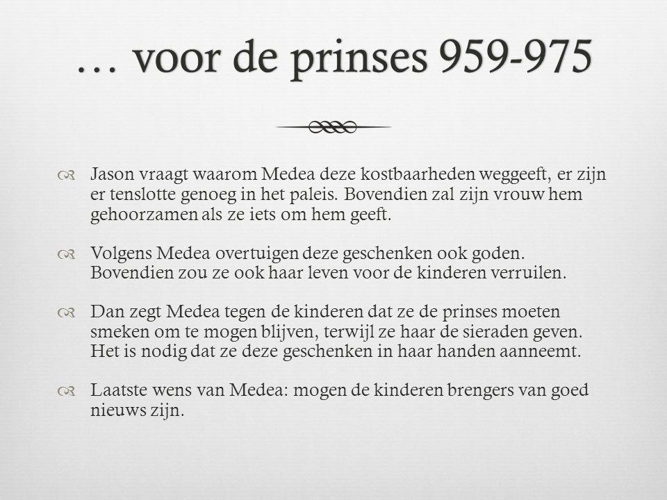 … voor de prinses 959-975