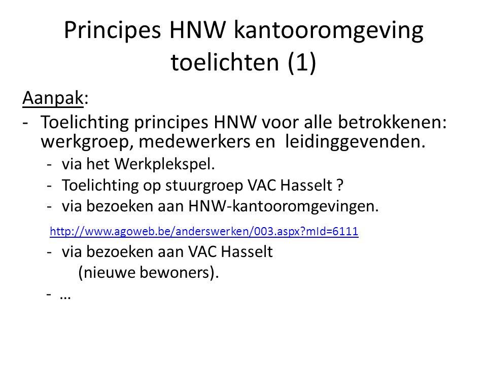 Principes HNW kantooromgeving toelichten (1)
