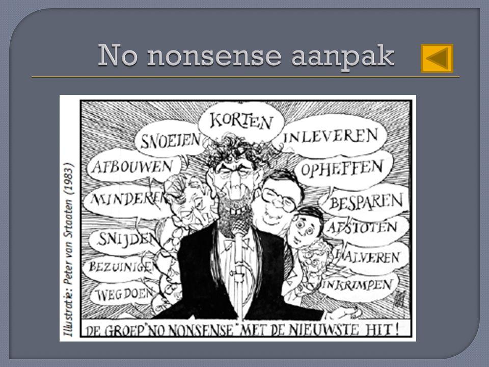 No nonsense aanpak