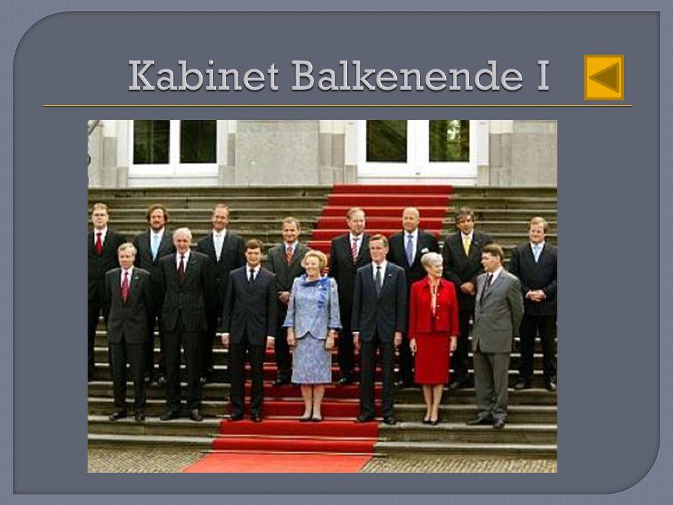 Kabinet Balkenende I
