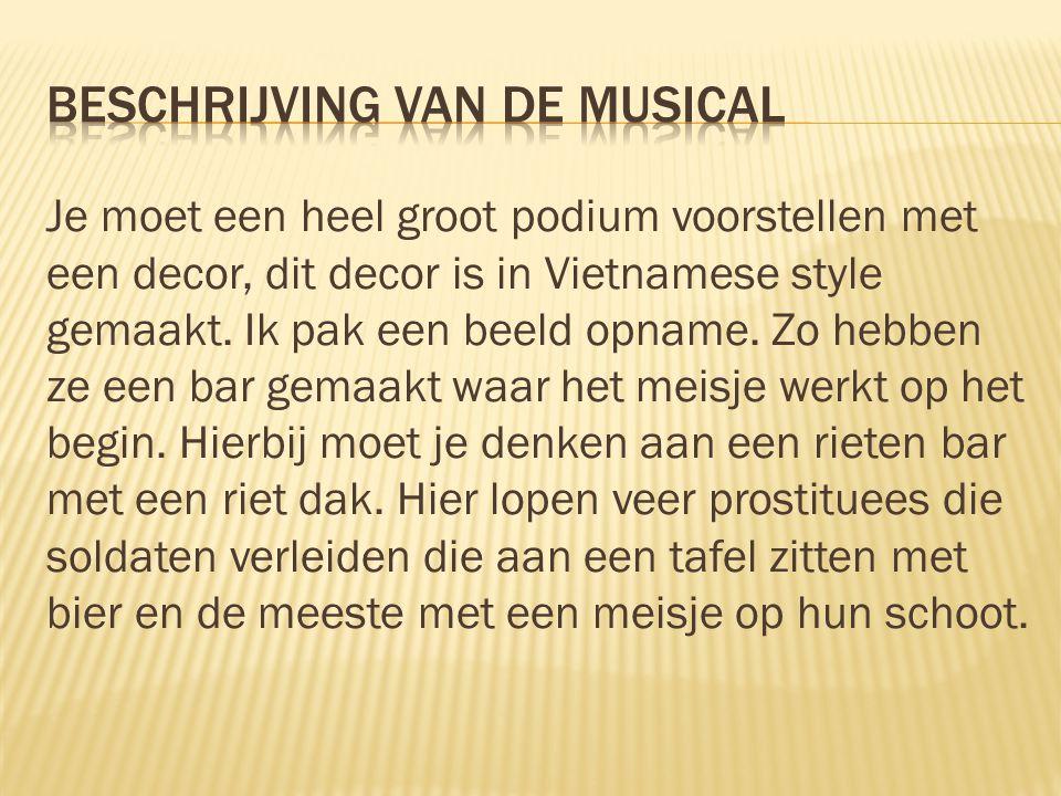 Beschrijving van de musical