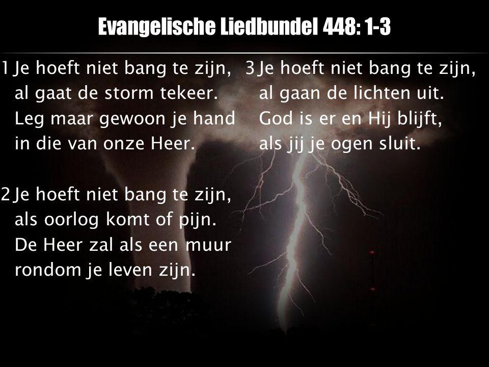 Evangelische Liedbundel 448: 1-3