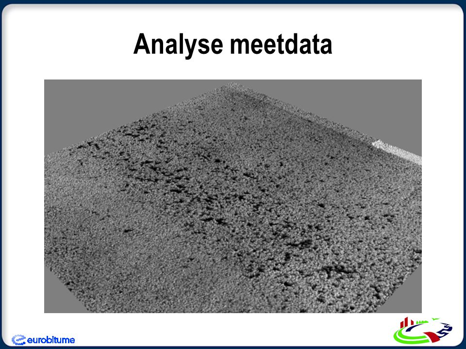 Analyse meetdata