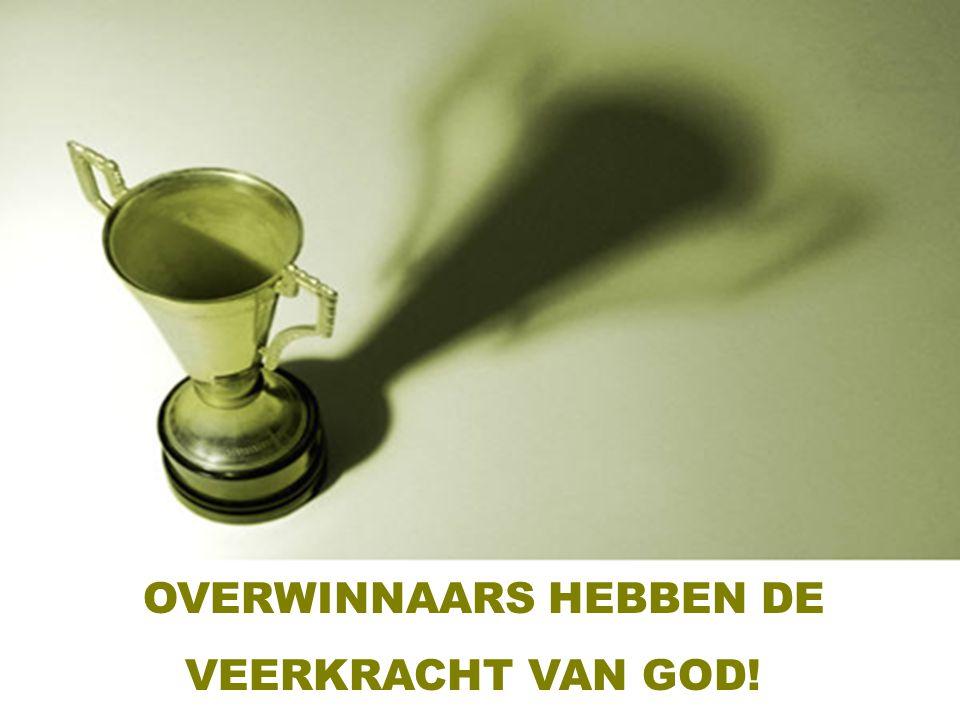 OVERWINNAARS HEBBEN DE