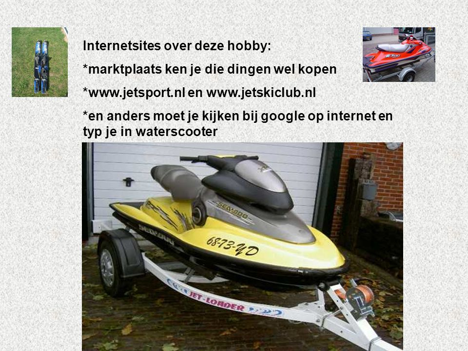 Internetsites over deze hobby: