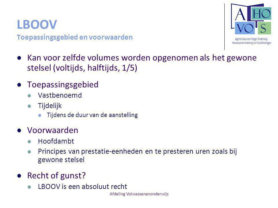 LBOOV Toepassingsgebied en voorwaarden
