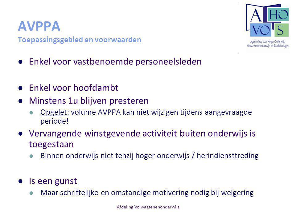 AVPPA Toepassingsgebied en voorwaarden