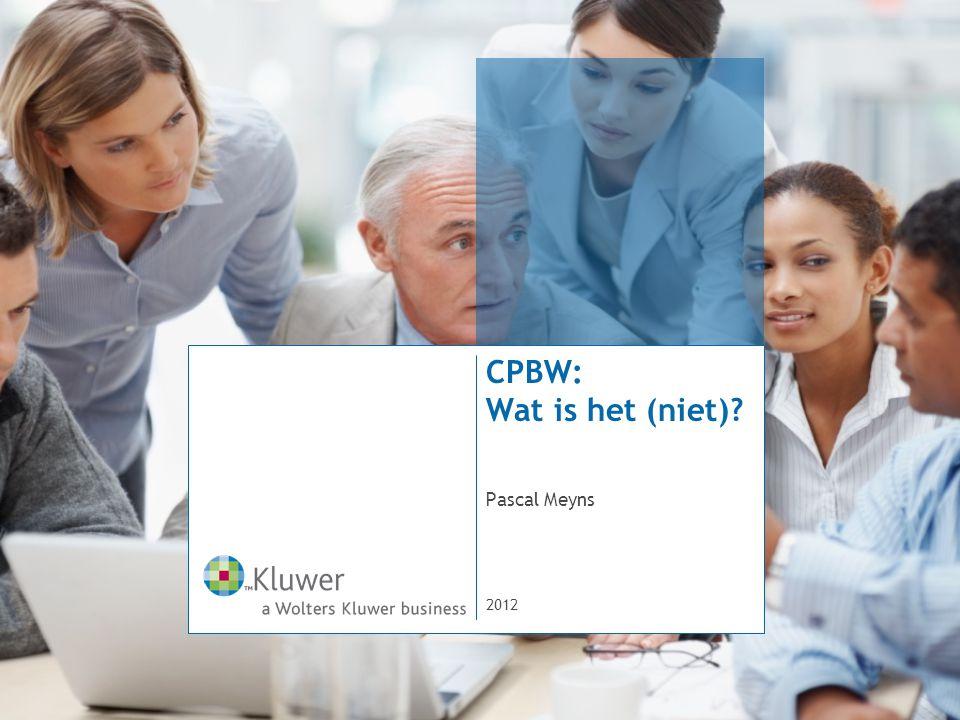 CPBW: Wat is het (niet) Pascal Meyns