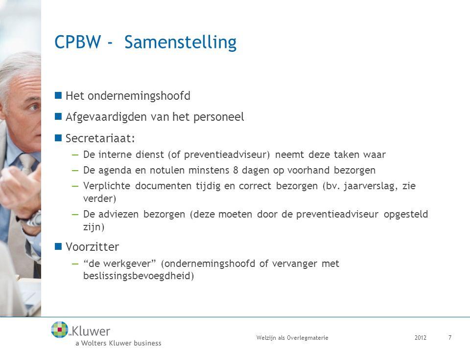 CPBW - Samenstelling Het ondernemingshoofd