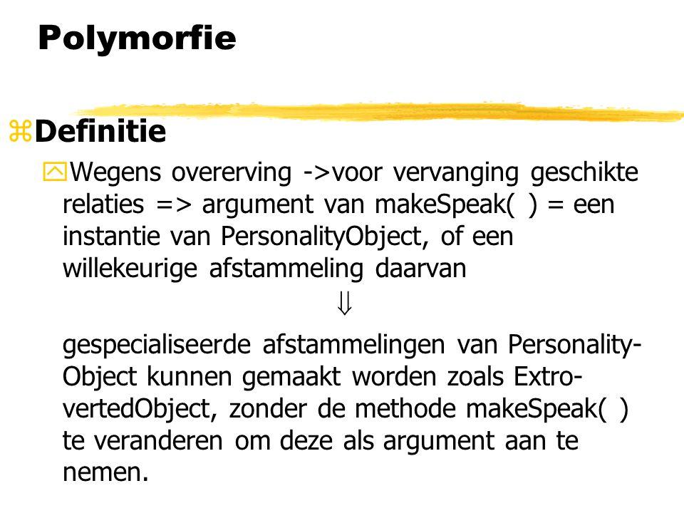 Polymorfie Definitie.