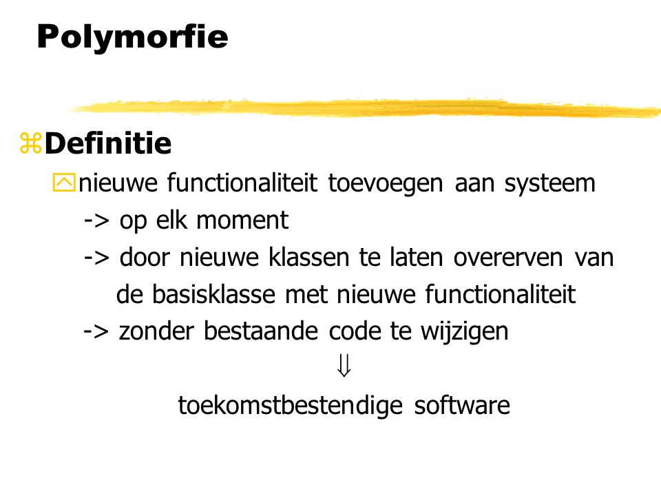toekomstbestendige software