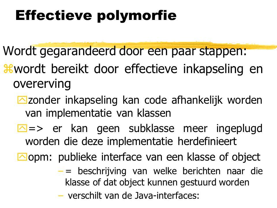 Effectieve polymorfie