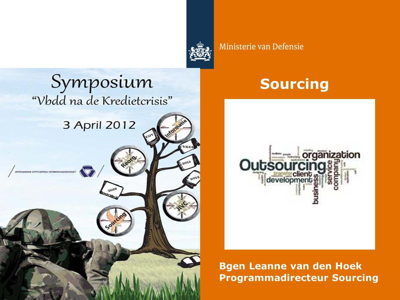 Bgen Leanne van den Hoek Programmadirecteur Sourcing