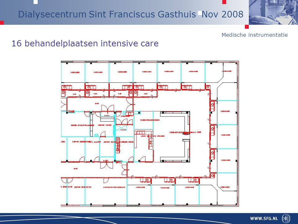 16 behandelplaatsen intensive care