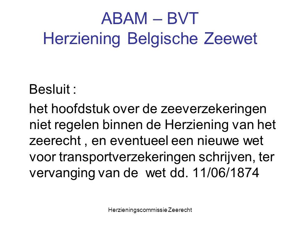 ABAM – BVT Herziening Belgische Zeewet