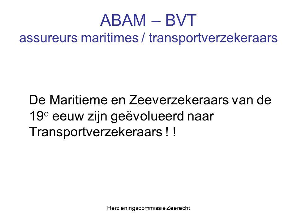 ABAM – BVT assureurs maritimes / transportverzekeraars