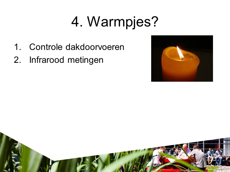 4. Warmpjes Controle dakdoorvoeren Infrarood metingen