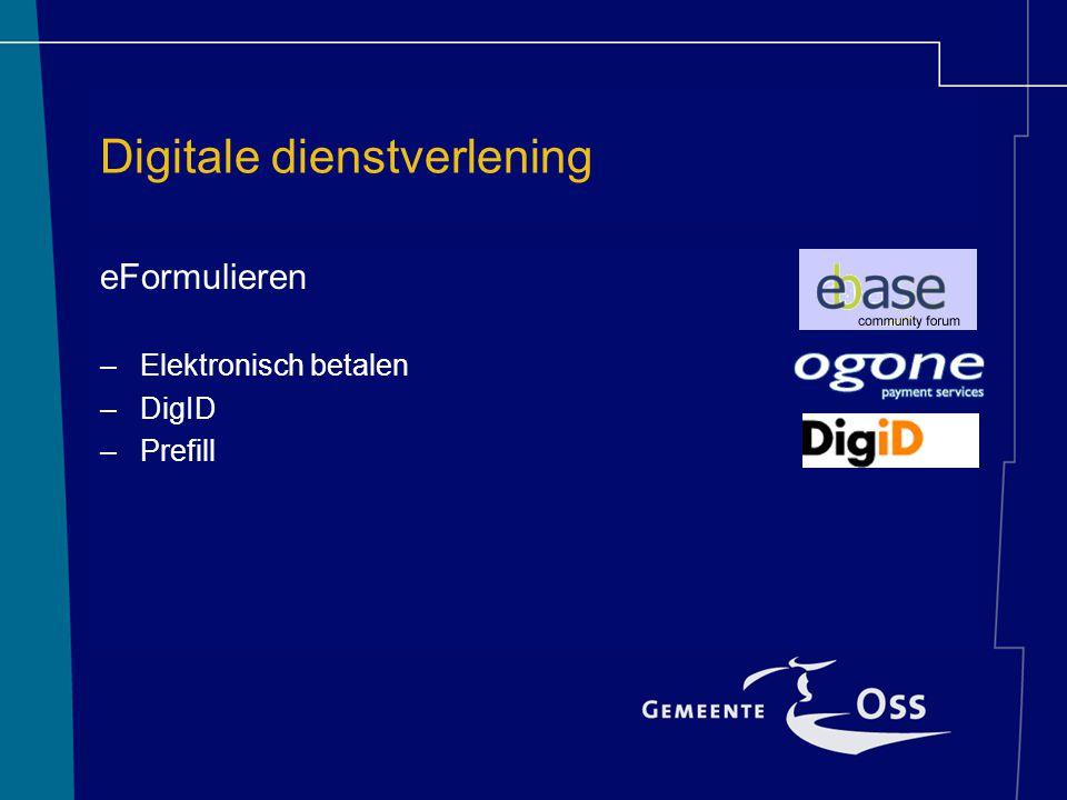 Digitale dienstverlening