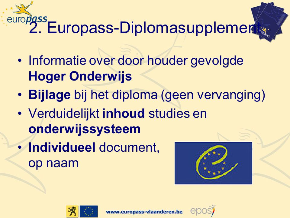 2. Europass-Diplomasupplement