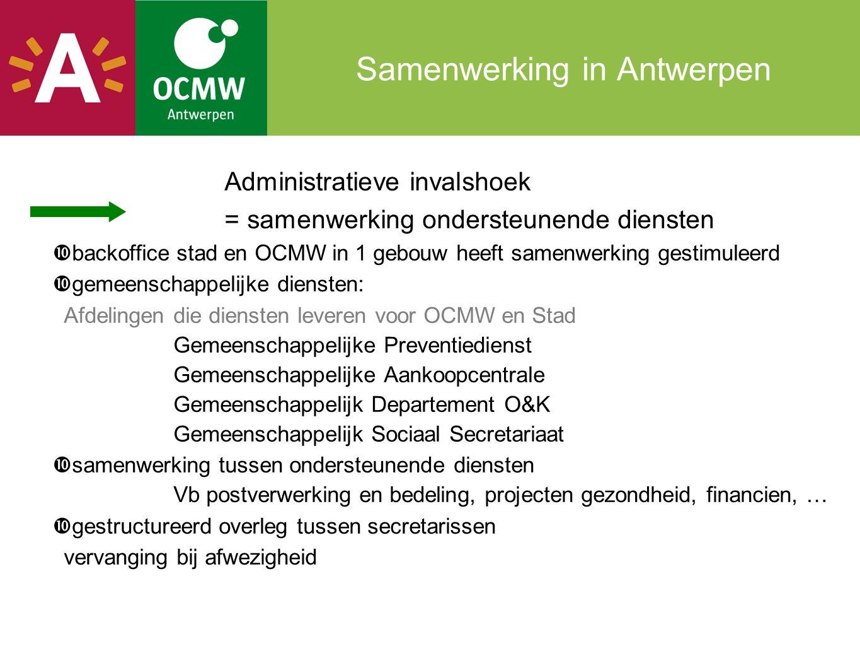 Samenwerking in Antwerpen