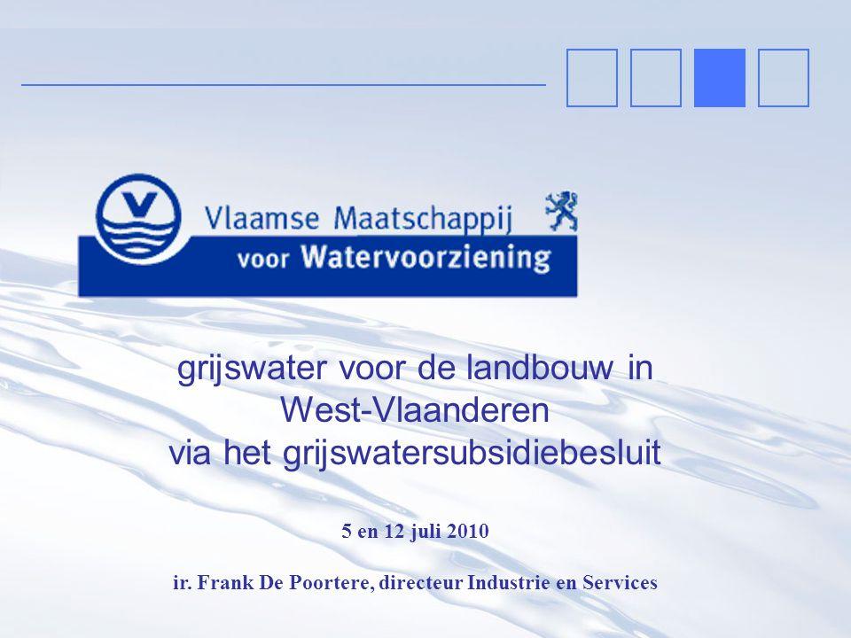 ir. Frank De Poortere, directeur Industrie en Services