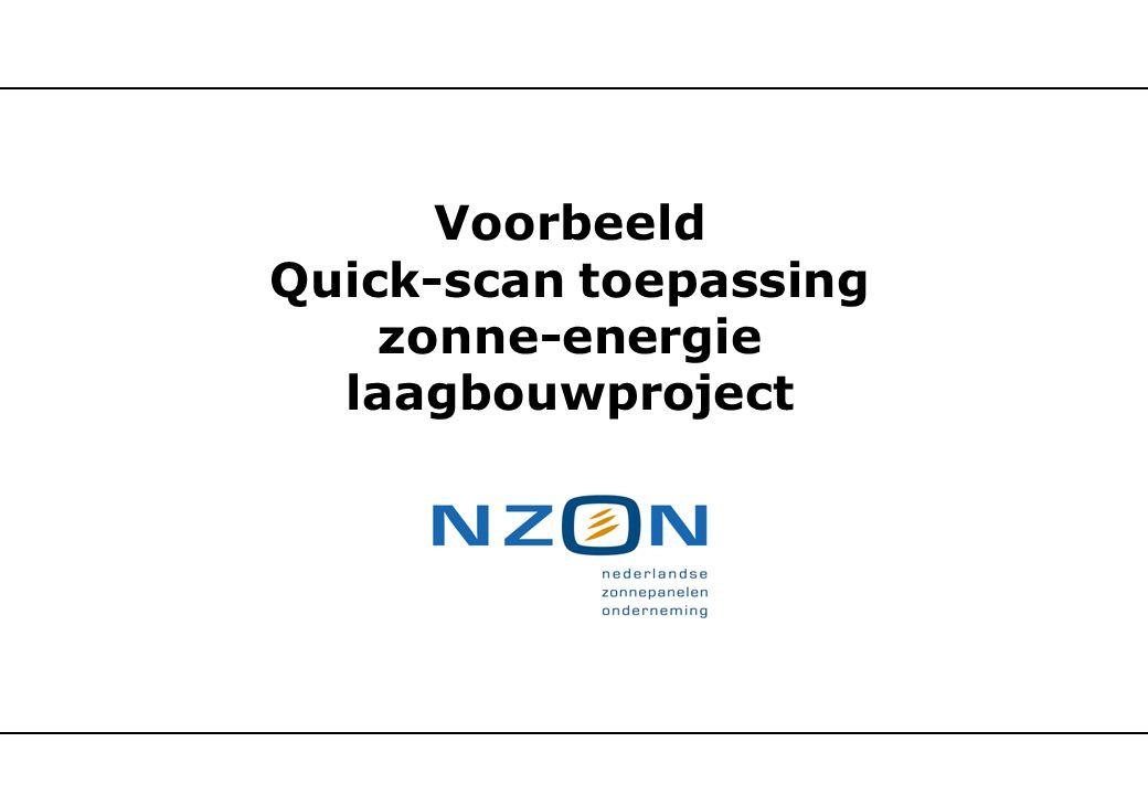 Quick-scan toepassing