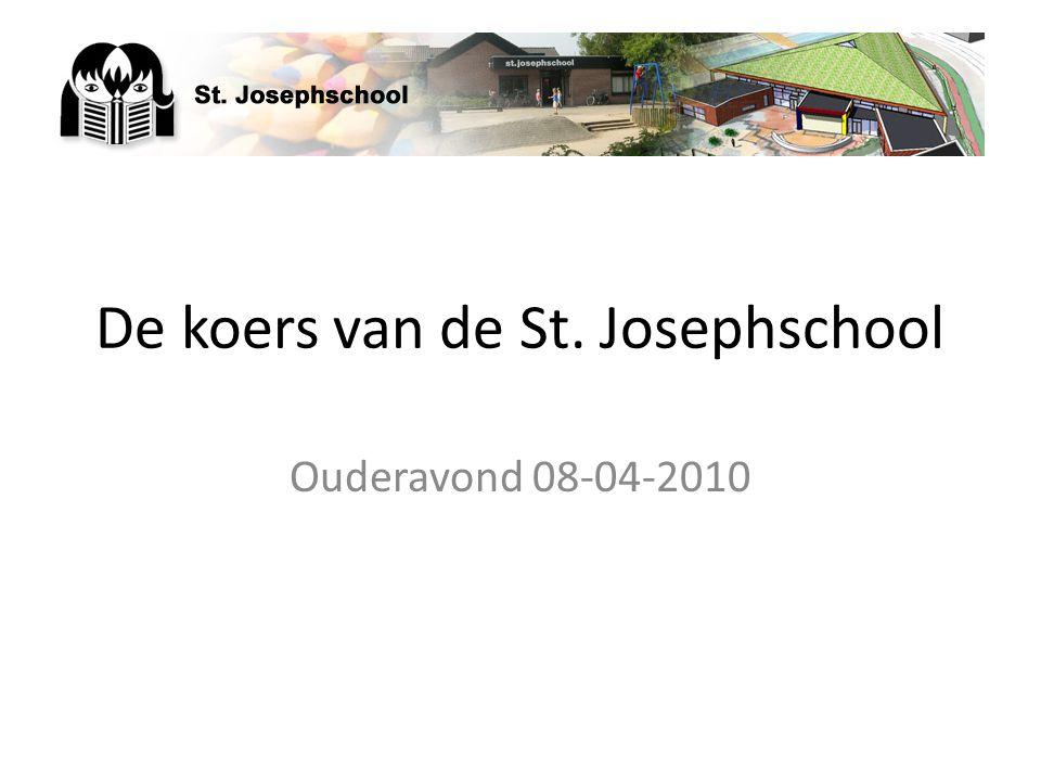 De koers van de St. Josephschool