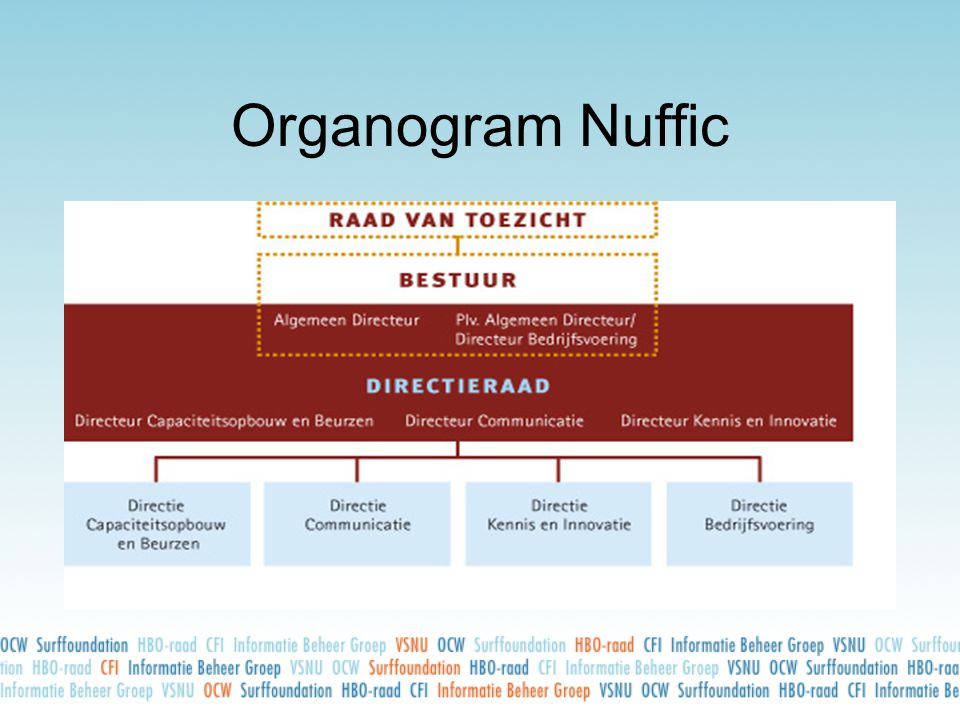 Organogram Nuffic