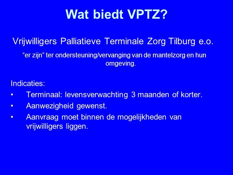 Vrijwilligers Palliatieve Terminale Zorg Tilburg e.o.