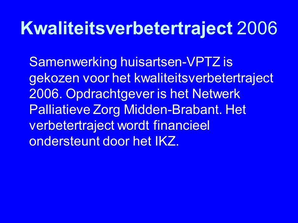 Kwaliteitsverbetertraject 2006