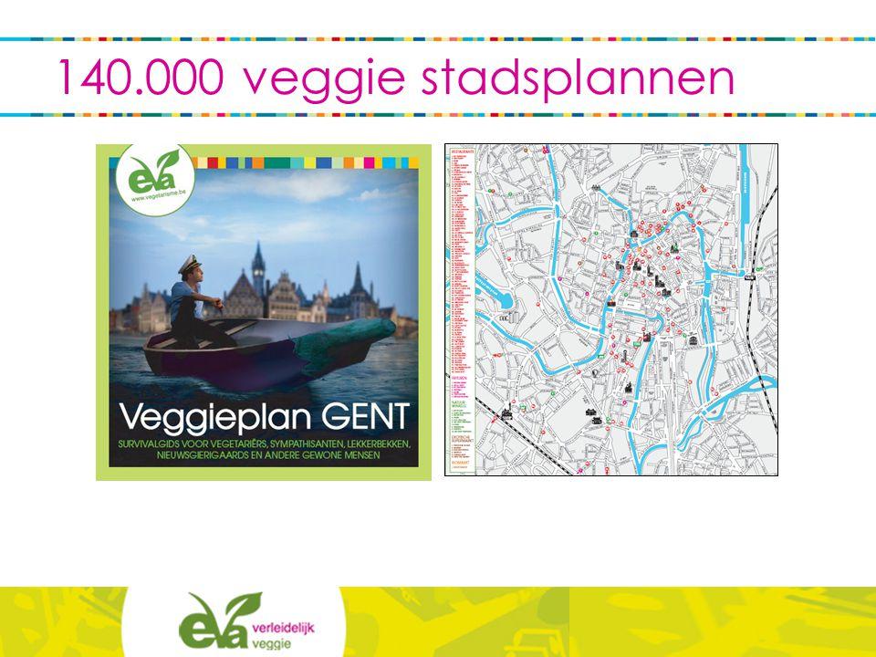 140.000 veggie stadsplannen