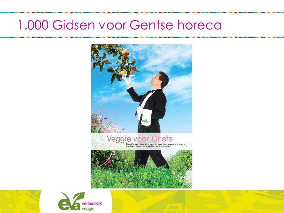 1.000 Gidsen voor Gentse horeca