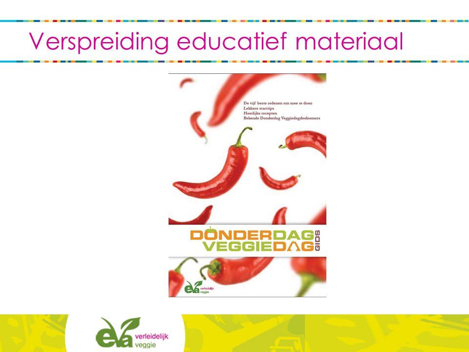 Verspreiding educatief materiaal