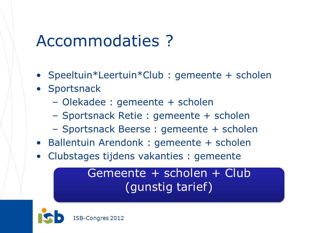 Gemeente + scholen + Club